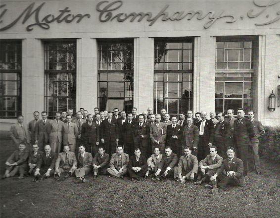 Equipo Ejecutivo de la planta de Ford en La Villa