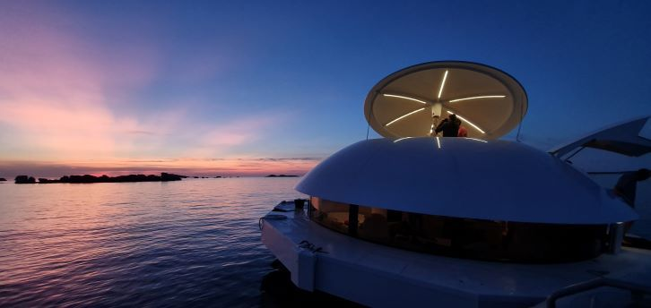 Anthénea: la primera suite flotante del mundo