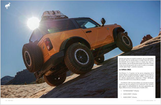 Ford Bronco: Siempre salvaje, siempre en movimiento