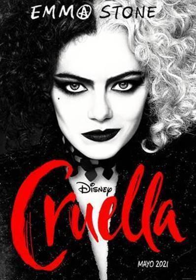 """Mira el póster y tráiler oficial de """"Cruella"""" con Emma Stone"""