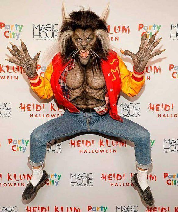 "Hombre-lobo del video ""Thriller"" (2017)"
