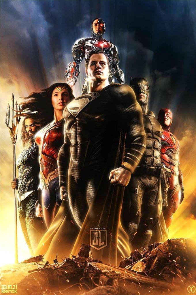"""¿Dónde rentar """"La Liga de la Justicia"""" de Zack Snyder?"""