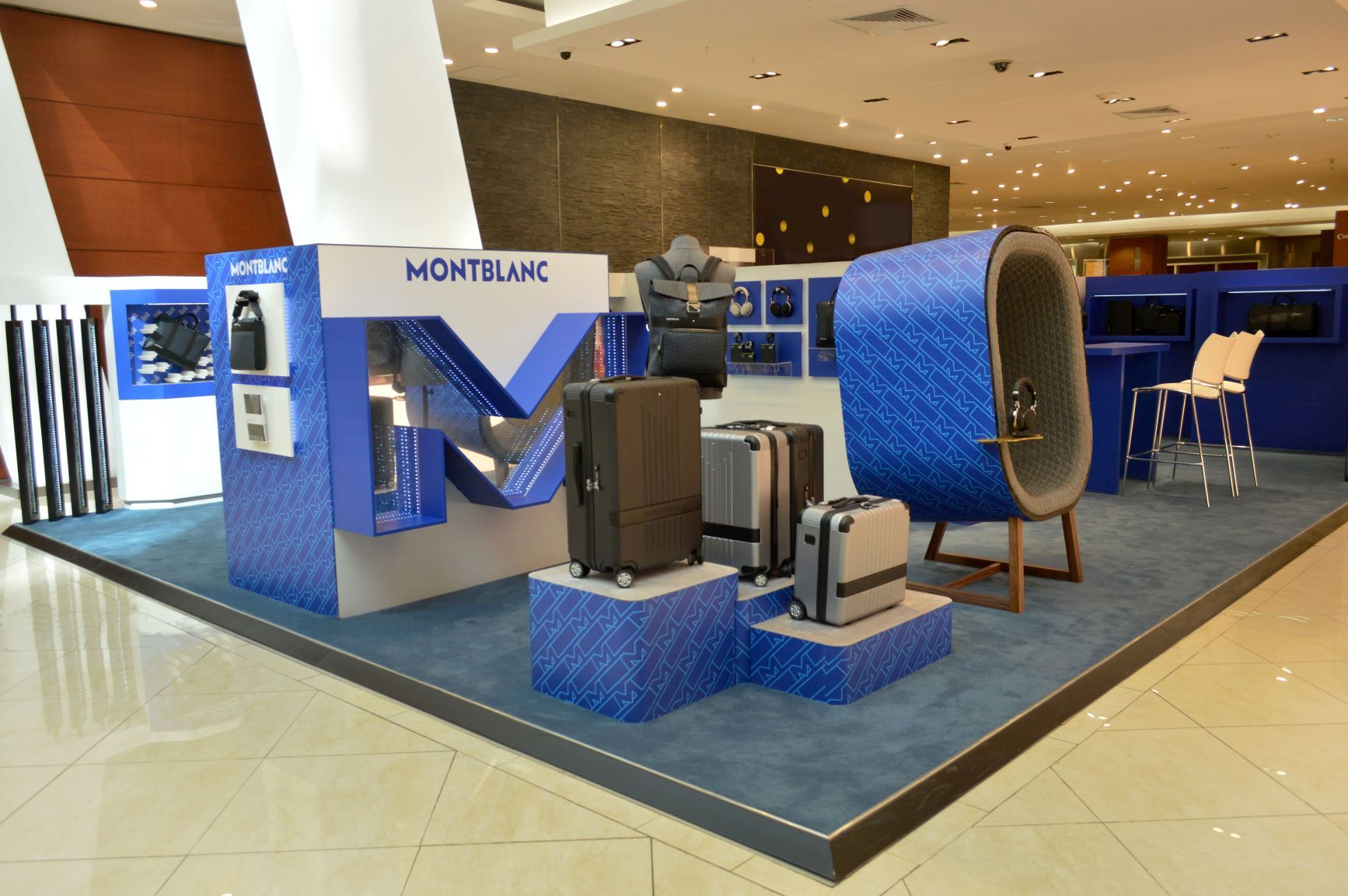 Montblanc inaugura Pop Up Store de M_Gram 4810