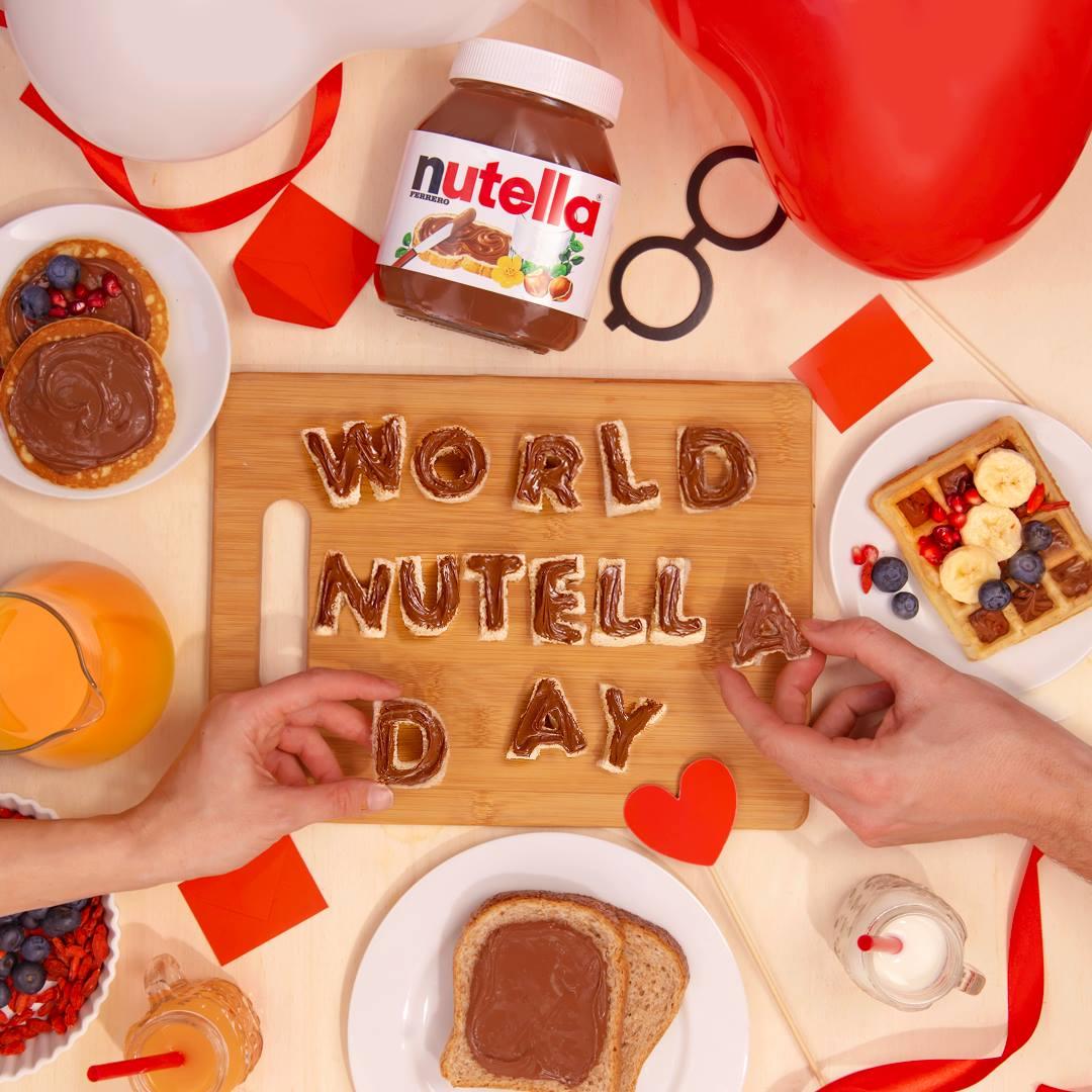 World Nutella Day: Una deliciosa celebración