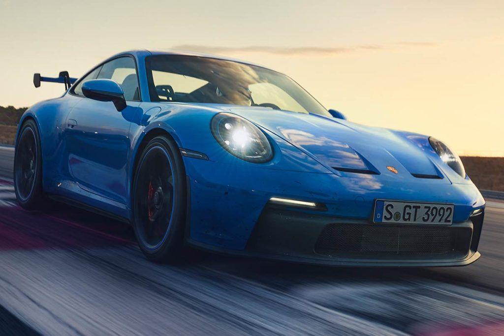 El nuevo Porsche 911 GT3 estará equipado con llantas Michelin