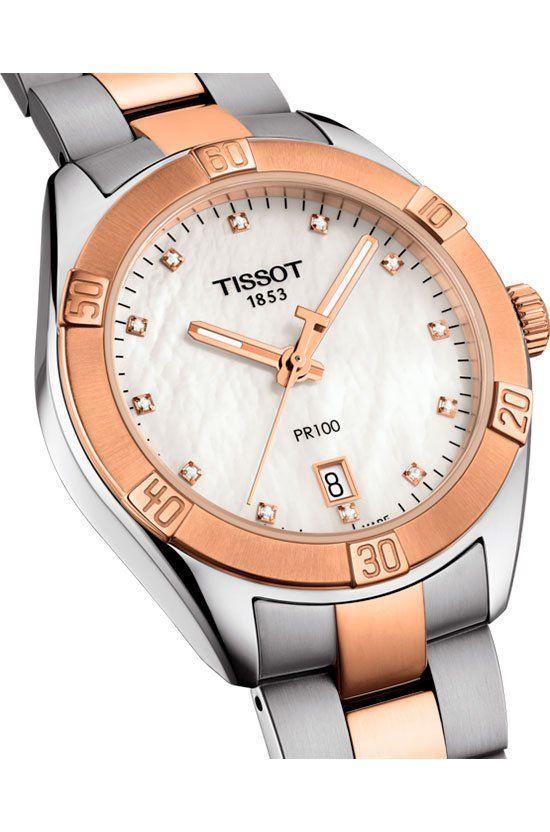 Sorpréndela con horas llenas de glamour con Tissot