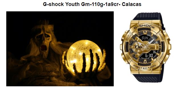 Relojes Casio para para disfrutar (y sobrevivir) Halloween
